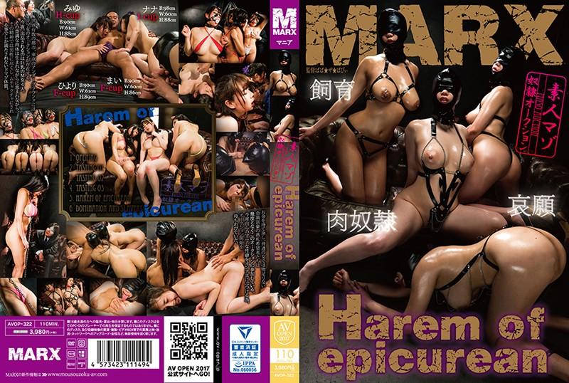 AVOP-322 Harem of epicurean ~素人マゾ奴隷オークション~